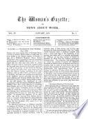 The Woman S Gazette