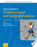 Oxford Textbook of Children s Sport and Exercise Medicine Book