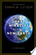 Oprah Miracles And The New Earth Book PDF