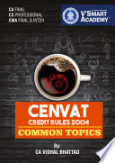 CA FINAL CENVAT & COMMON TOPICS