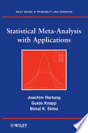 Statistical Meta Analysis with Applications