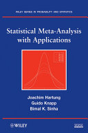 Statistical Meta-Analysis with Applications