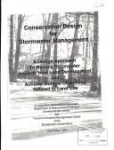 Conservation Design for Stormwater Management