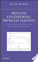 Process Engineering Problem Solving Book