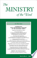 The Ministry Of The Word Vol 21 No 6