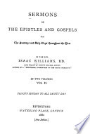 Sermons on the Epistles and Gospels for the Sundays and holy days throughout the year