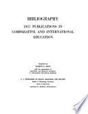 Bibliography  1957 Publications in Comparative and International Education