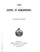 The Gospel of Râmakrishna