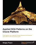 Applied SOA Patterns on the Oracle Platform Pdf/ePub eBook