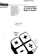Tax Information on Cost Or Other Basis of Assets