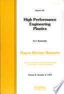 High Performance Engineering Plastics