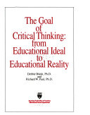 The Goal of Critical Thinking