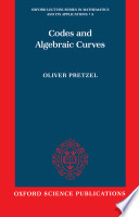 Codes and Algebraic Curves