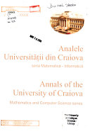 Analele Universit    ii Din Craiova Book