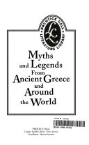 Myths and Legends from Ancient Greece and Around the World Book