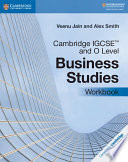 Cambridge IGCSE(TM) and O Level Business Studies Workbook