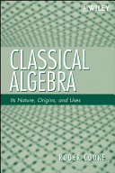 Classical Algebra