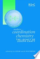 Modern Coordination Chemistry