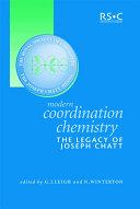 Modern Coordination Chemistry Pdf/ePub eBook