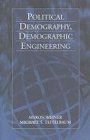 Political Demography, Demographic Engineering Pdf/ePub eBook