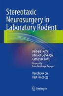 Stereotaxic Neurosurgery in Laboratory Rodent Pdf/ePub eBook