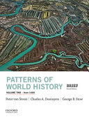 Patterns of World History  Volume Two  From 1400 Book
