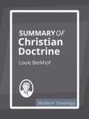 Summary of Christian Doctrine [Pdf/ePub] eBook
