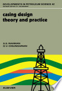 Casing Design Theory And Practice Book PDF
