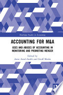 Accounting for M A Book