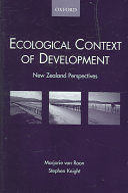 Ecological Context of Development