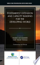 Postharvest Extension and Capacity Building for the Developing World