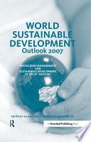 World Sustainable Development Outlook 2007