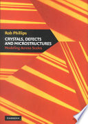 Crystals  Defects and Microstructures