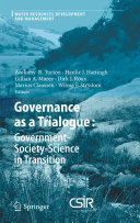 Governance as a Trialogue  Government Society Science in Transition