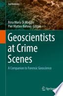 Geoscientists at Crime Scenes