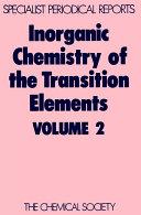 Inorganic Chemistry of the Transition Elements Pdf/ePub eBook