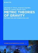 Metric Theories of Gravity Book