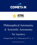 Philosophical Astronomy & Scientific Astronomy
