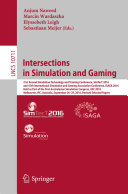 Pdf Intersections in Simulation and Gaming