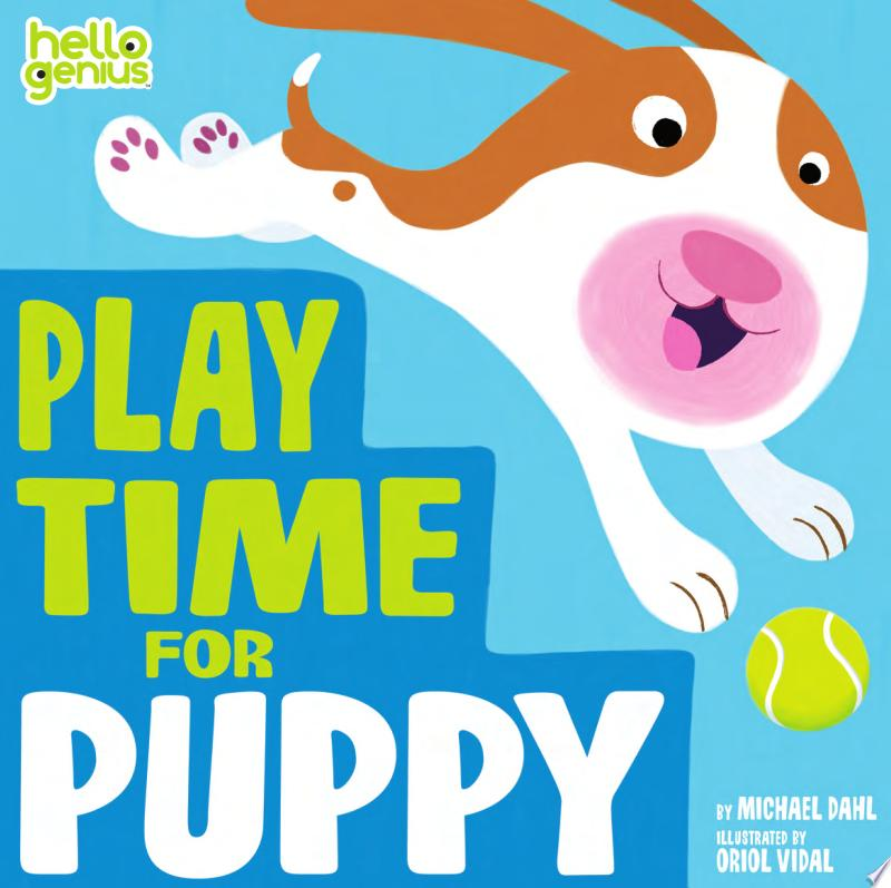 Play Time for Puppy banner backdrop