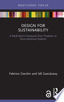 Design for Sustainability  Open Access  Book