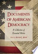 Documents Of American Democracy