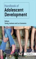 Pdf Handbook of Adolescent Development Telecharger
