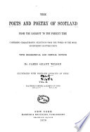 The Poets and Poetry of Scotland Book