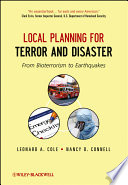 Local Planning for Terror and Disaster