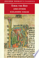 Eirik the Red and Other Icelandic Sagas