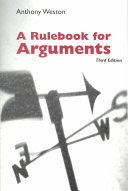 A Rulebook for Arguments  3rd Edition