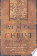 The Imitation of Christ by Thomas a Kempis Book