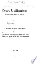 Reports by the Commission on Organization of the Executive Branch of the Government Book
