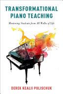 Transformational Piano Teaching [Pdf/ePub] eBook